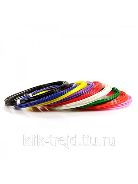 Пластик ABS-9 для 3D ручек (по 10м. 9 цветов в коробке)