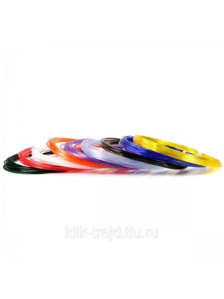 Пластик PRO-9 для 3D ручек (по 10м. 9 цветов в коробке)
