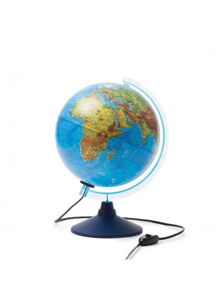 Глобус 25см Интерактивный физико-политический с подсветкой от сети с очками VR