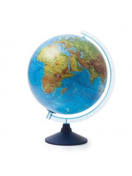 Глобус 32см интерактивный физико-политический с подсветкой (батарейки)