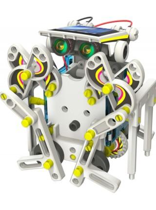 Робот конструктор на солнечной батарее 14 в 1