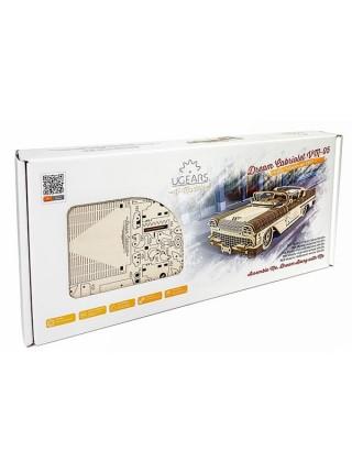 Сборная модель Ugears Кабриолет мечты VM-05