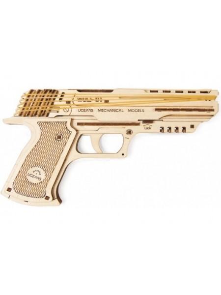 Сборная модель Ugears Пистолет Вольф-01