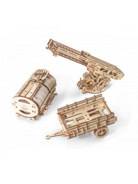 Сборная модель Ugears Дополнение к грузовику UGM-11