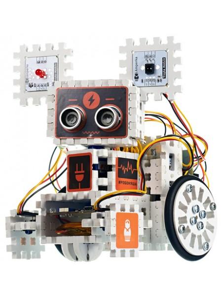 Робоняша - продолжение набора «Йодо» Электронный конструктор Амперка