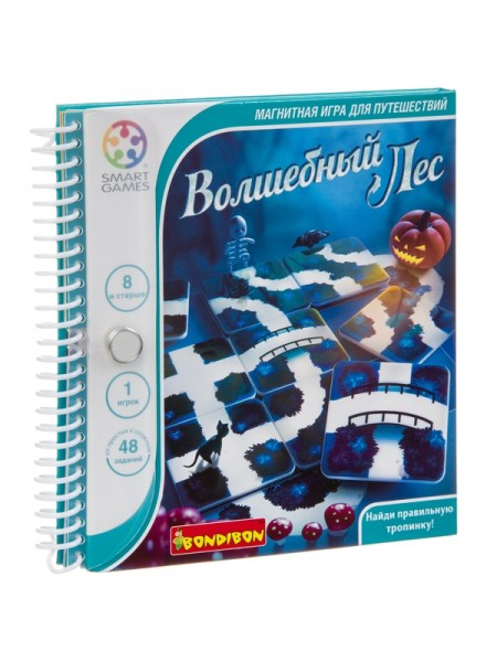 Волшебный лес - магнитная компактная игра для путешествий BONDIBON
