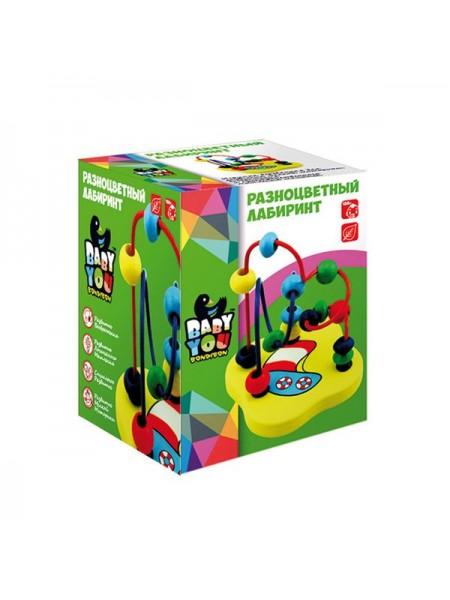 «Разноцветный лабиринт» игра BONDIBON