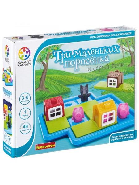 «Три маленьких поросёнка» логическая игра BONDIBON