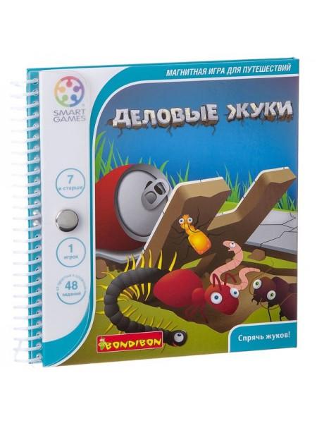 Деловые жуки - магнитная компактная игра для путешествий BONDIBON