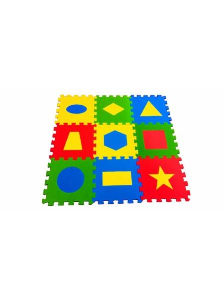 Геометрия (9 пазлов, 33х33см) Мягкий пол ECO COVER