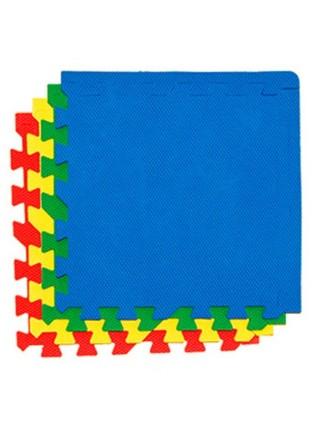 Ассорти  (4 пазла, 60×60 см) Мягкий пол универсальный ECO COVER