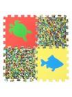 Сафари (9 пазлов, 33х33см) Мягкий пол универсальный ECO COVER