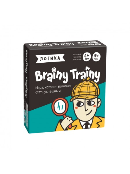 Логика Игра-головоломка BRAINY TRAINY