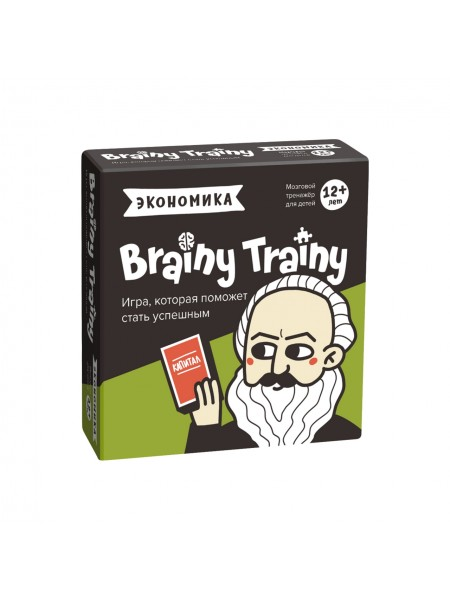 «Экономика» Игра-головоломка BRAINY TRAINY