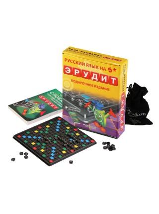 Эрудит подарочный набор Настольная игра БИПЛАНТ