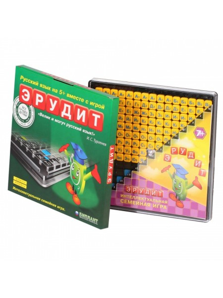 Эрудит (в коробочке) Настольная игра БИПЛАНТ