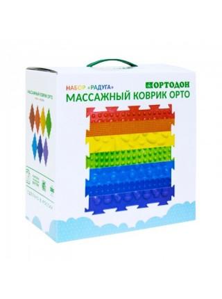 """""""РАДУГА"""" 7 пазлов Ортопедический массажный коврик ОРТО"""