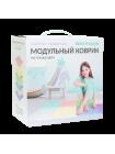 УНИВЕРСАЛ пастельные цвета 8 пазлов Ортопедический массажный коврик ОРТО