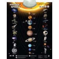 Космос / Space звуковой плакат ЗНАТОК