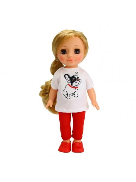 Кукла  Ася с бульдожкой ВЕСНА