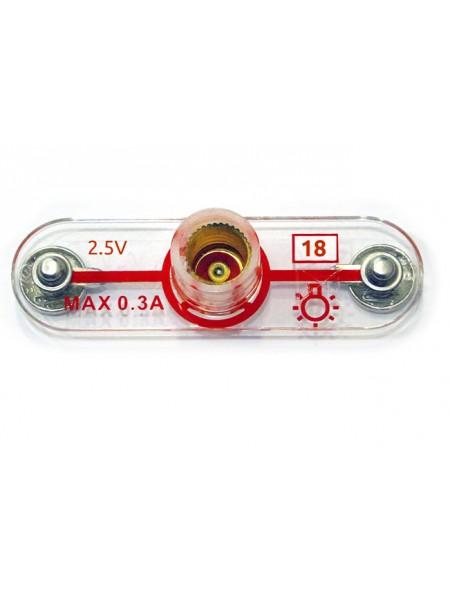 Деталь №18, патрон для лампы 2,5V